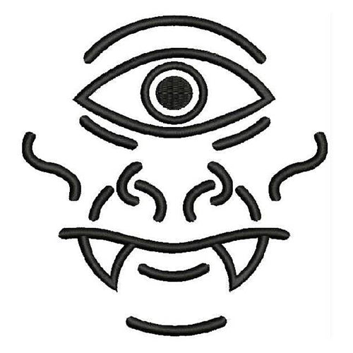 Cyclops Lines Expression Machine Embroidery Designs 1146