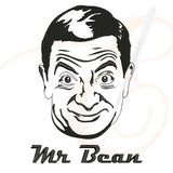 Mr Bean Face Vector Machine Embroidery Designs