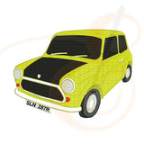Mr Bean Car Machine Embroidery Designs