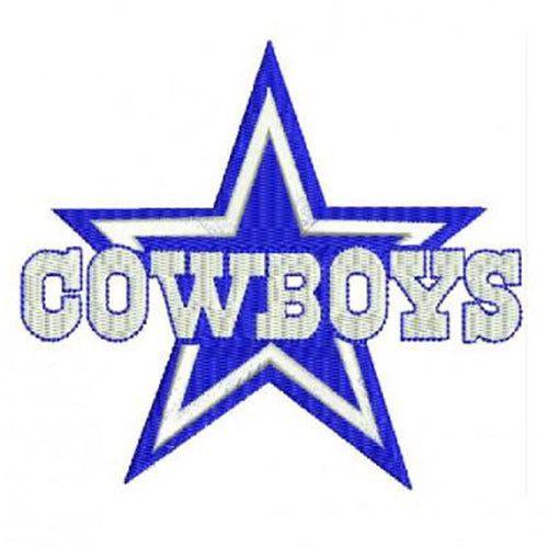 Dallas Cowboys Logo 2 Machine Embroidery Designs 980