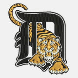 Detroit Tigers MLB Baseball Machine Embroidery Designs 549
