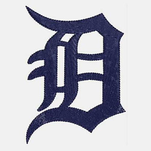 Detroit Tigers Machine Embroidery Designs 468