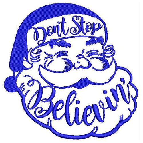 Don't stop believin Machine Embroidery Designs 1153