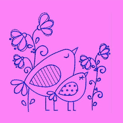 Dreaming Birds Machine Embroidery Designs 53