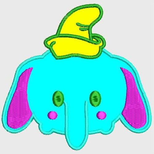 Dumbo Tsum Machine Embroidery Designs 820
