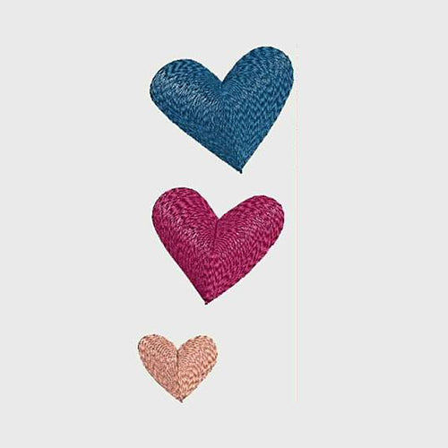 Hearts - Machine Embroidery Designs 166