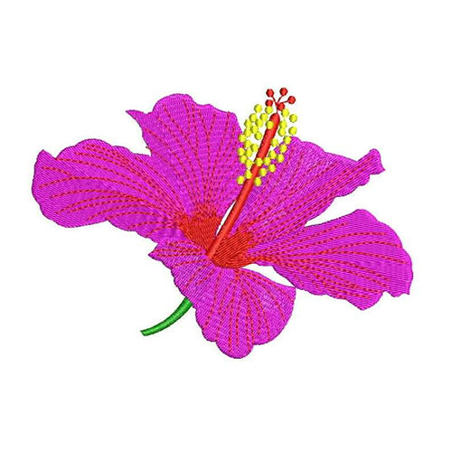 Hibiscus Machine Embroidery Designs 2004