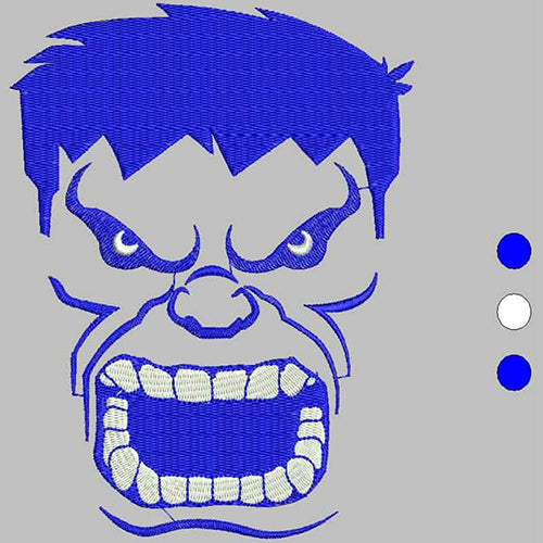 Hulk Machine Embroidery Designs 1555