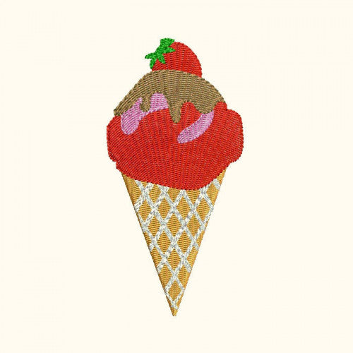 Ice Cream Machine Embroidery Designs 267C