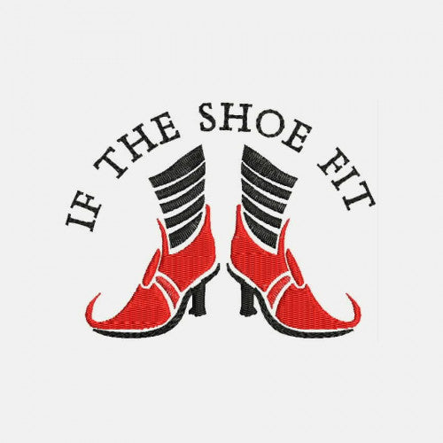 If the Shoe Fits Machine Embroidery Designs 320