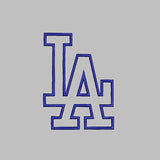Los Angeles Dodgers baseball Logo Machine Embroidery Designs D475