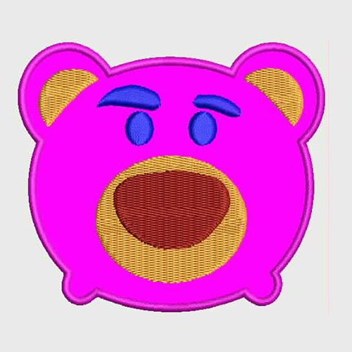 Lotso Tsum Tsum Applique + Filled Stitches Design 804