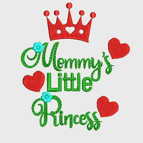 Memmy's Little Princess Machine Embroidery Designs 890