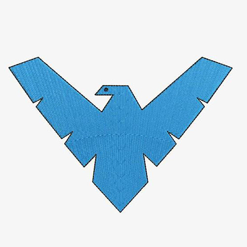 Nightwing Logo Machine Embroidery Designs 193