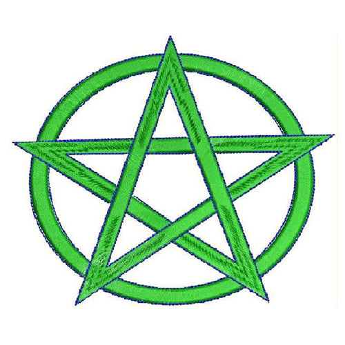 Pentagram Machine Embroidery Designs 1172
