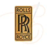 Rolls Royce Logo Machine Embroidery Designs