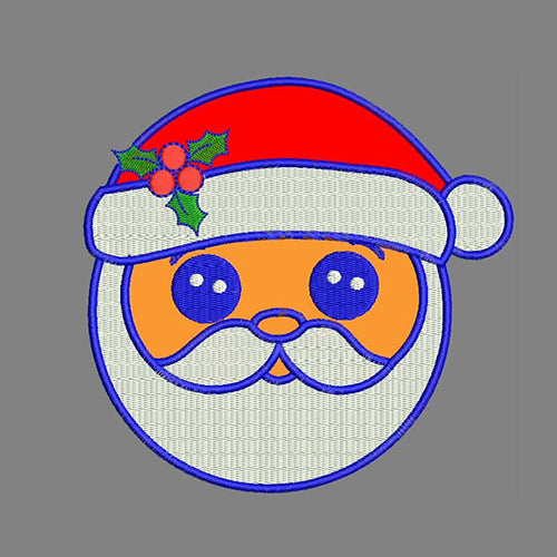 Santa Machine Embroidery Designs 778