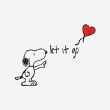 Snoopy Let It Go Disney Machine Embroidery Designs 555