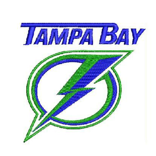 Tampa Bay Lightning Logo 3 Machine Embroidery Designs 1122