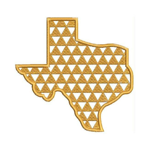 Texas Monogram Machine Embroidery Designs 1442