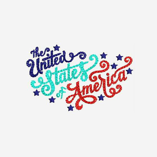 The United States of America Machine Embroidery Designs 589
