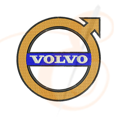 Volvo Logo Machine Embroidery Designs