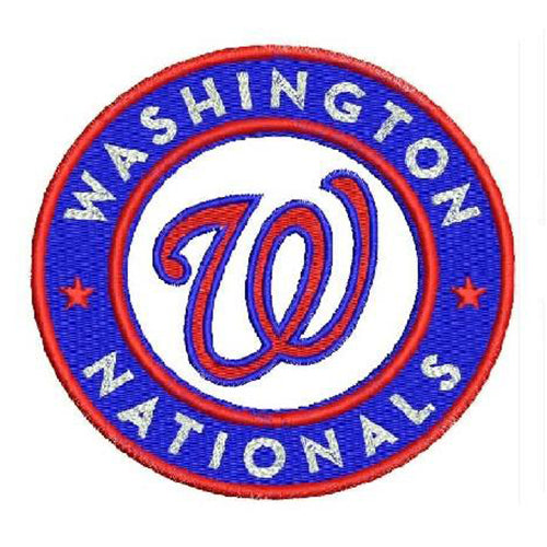 Washington Nationals Logo 1 Machine Embroidery Designs 1107