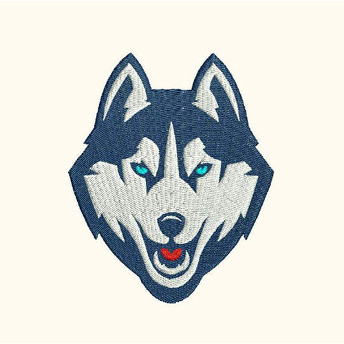 Wolf Husky Head Machine Embroidery Designs 324