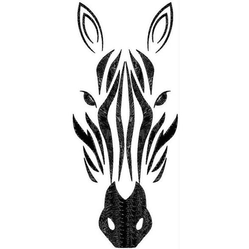 Zebra Face Machine Embroidery Designs 4