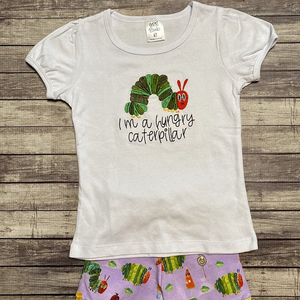 Hungry Caterpillar Machine Embroidery Designs