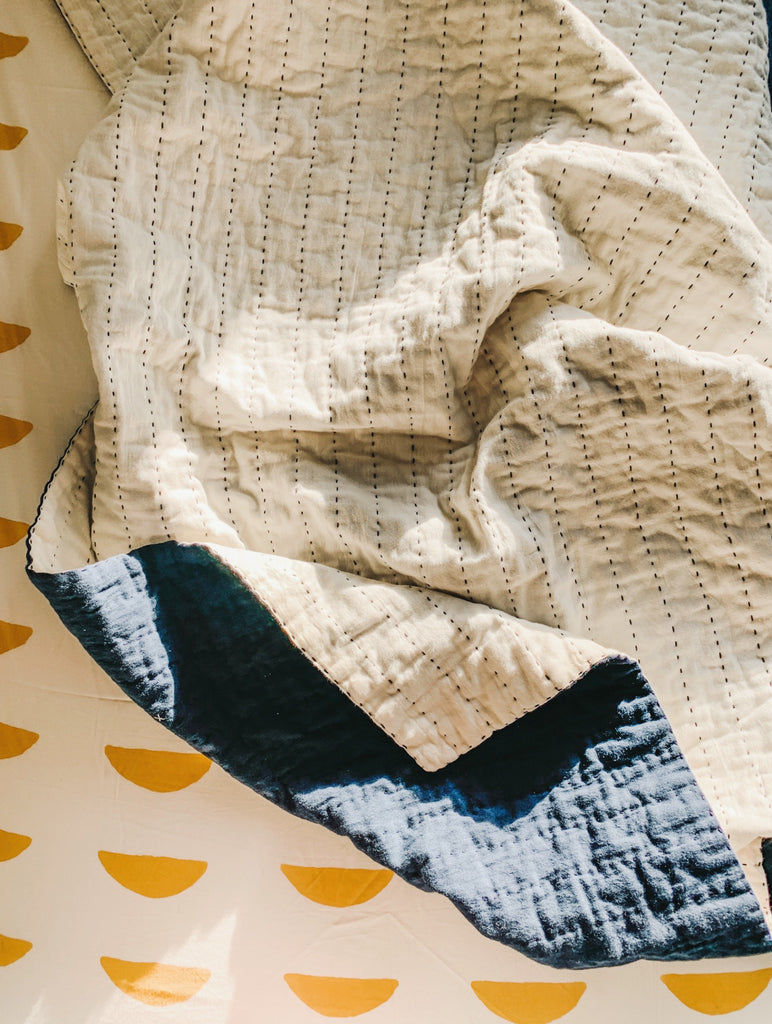 Imperfect Indigo Quilt