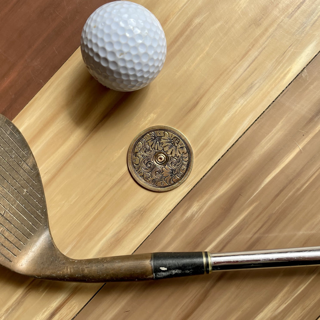 Ball Markers - Hand Engraved