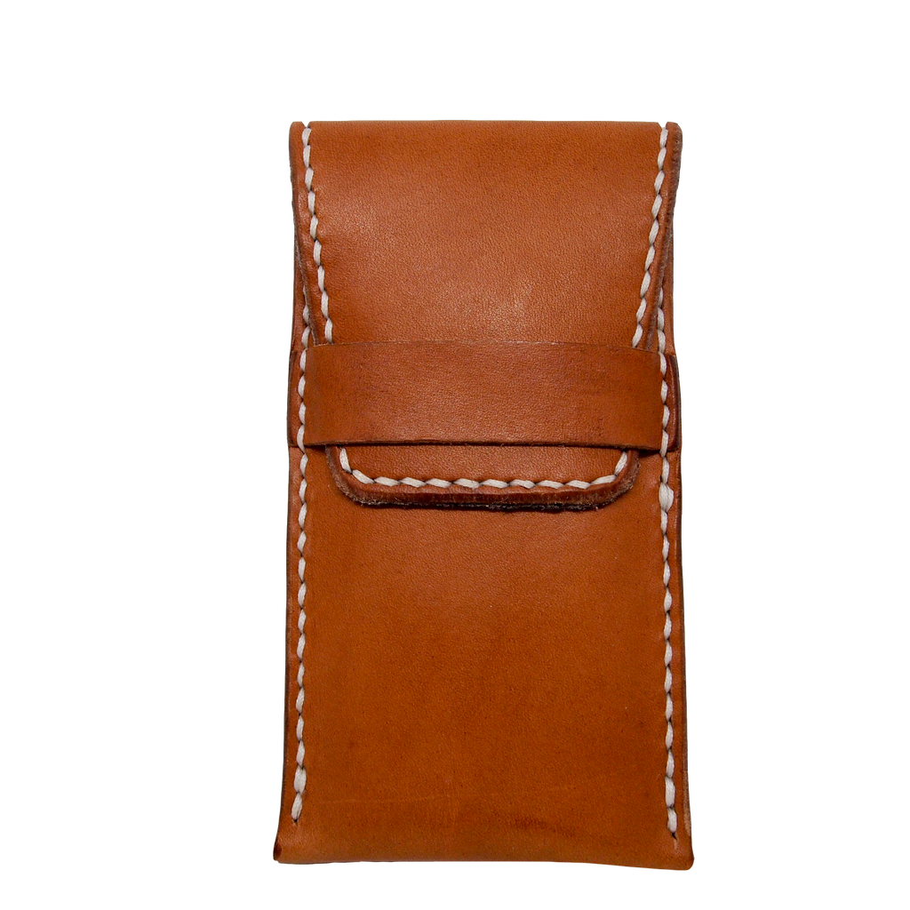 The Timber - Leather Travel Pouch