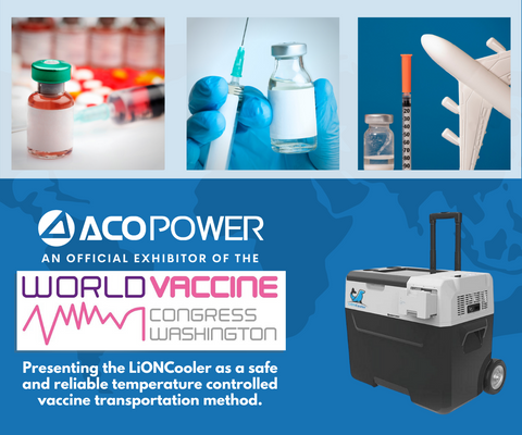 Covid 19 Vaccine Transport with ACOPOWER