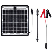 ACOPOWER 24V 10 W  Trickle Solar Charger 0.28Amp, Trolling Motor Battery Charger