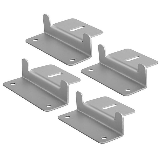ACOPOWER Solar Panel Mounting Z Bracket - Set of 4 for RV Boat Off Gird Installation