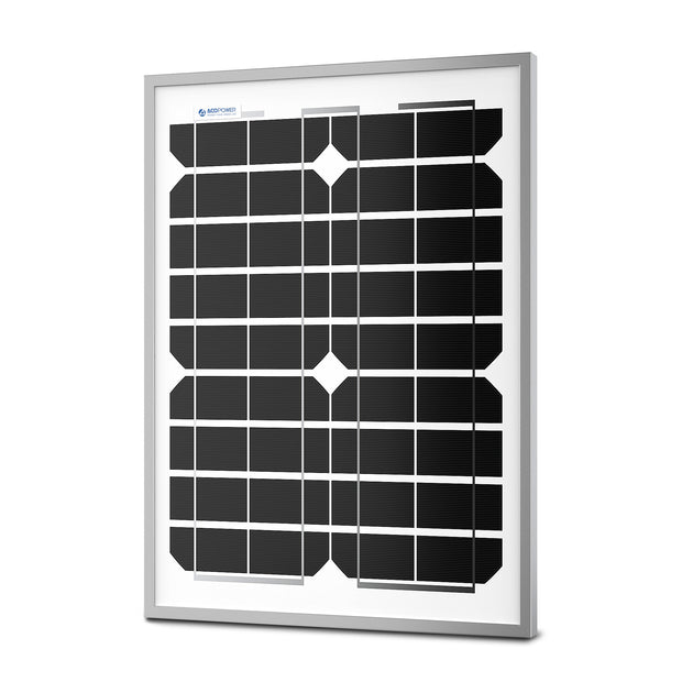 ACOPOWER 20 Watts Mono Solar Panel, 12V