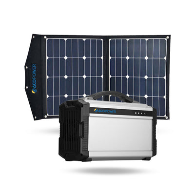 ACOPOWER 220Wh Generator and 70W Portable Solar Panel