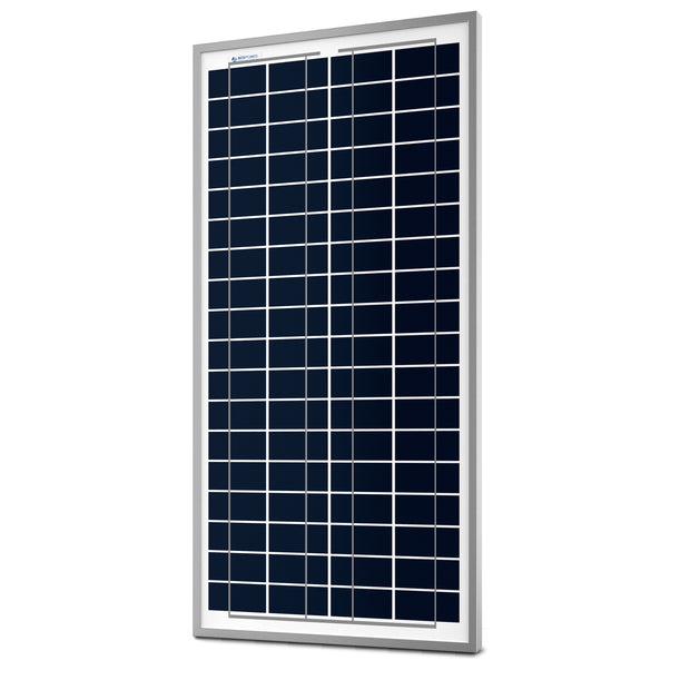 ACOPWER 35 Watts Poly Solar Panel, 12V