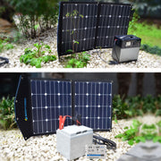 ACOPOWER 220Wh Generator and 70W Portable Solar Panel - acopower