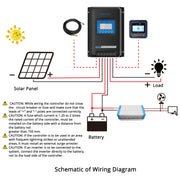 ACOPOWER Midas 40A MPPT Waterproof Solar Charge Controller with Remote Meter MT-50(New Arrival 2020)