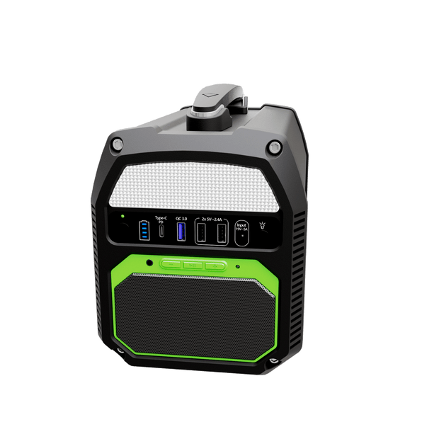 ACOPOWER 462Wh/500W Portable Solar Generator, the ONLY Power Station with Bluetooth Speaker in the Market (New Arrival 2020)