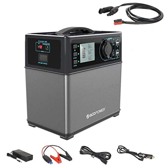 ACOPOWER 400Wh Portable Solar Generator - acopower