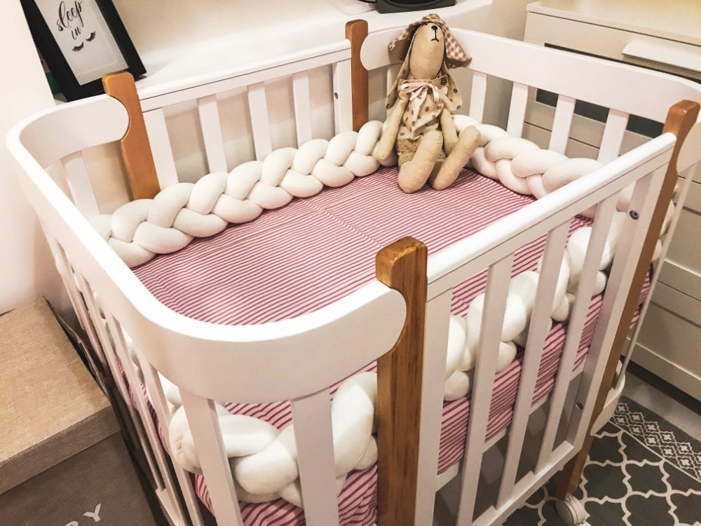 What age can I use crib bumpers?