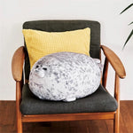Sea Lion Stuffed Throw Pillow