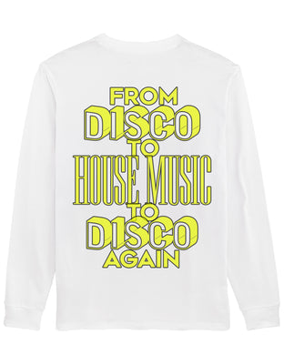 Boston Bun - From Disco To House Music To Disco Again (Long sleeve)