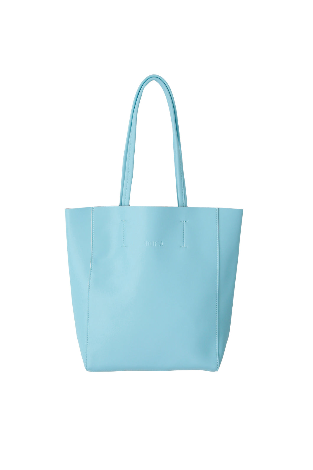 Small Aqua Portrait Tote