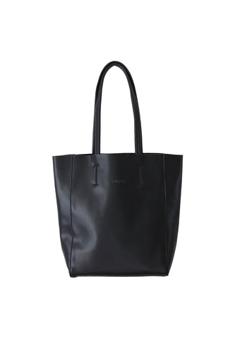 Small Black Portrait Tote