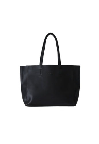 Large Black Landscape Tote