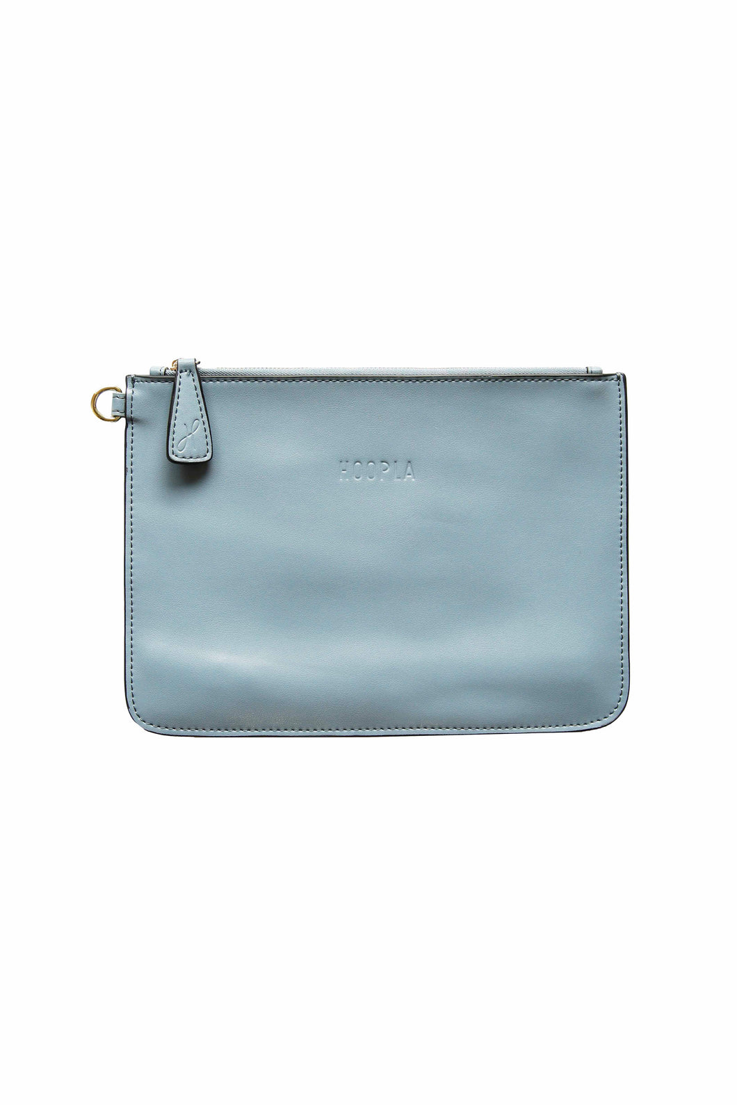 Blue Grey Clutch